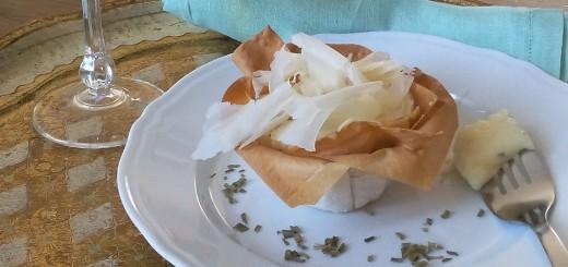 Sformatini di verdure invernali con fonduta di Taleggio e Raspadura