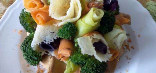 Bouquet di Grana Padano, verdure e miele
