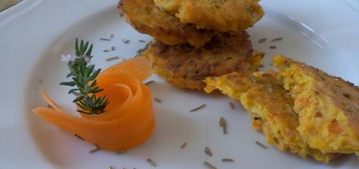 Pancakes alle carote senza glutine